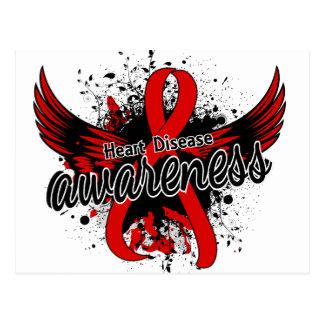 Heart Disease Awareness 16 Postcard