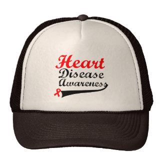 Heart Disease Awareness Trucker Hats