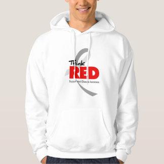 Heart Disease Awareness Hooded Sweatshirt