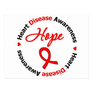 Heart Disease Awareness Hope Postcard