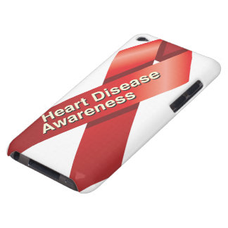 Heart Disease Awareness ipod case Barely There iPod Cases