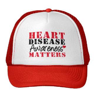 Heart Disease Awareness Matters Hat