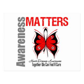 Heart Disease Awareness Matters Postcard