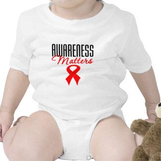 Heart Disease Awareness Matters T Shirts