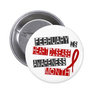 Heart Disease Awareness Month L1 Pins