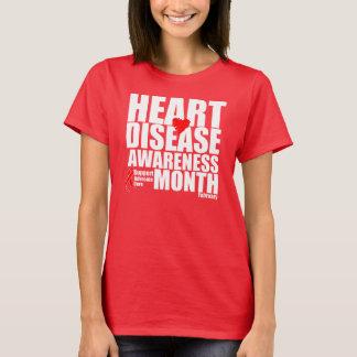 Heart Disease Awareness Month T-Shirt