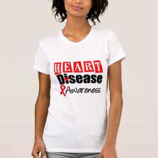 Heart Disease Awareness T Shirt