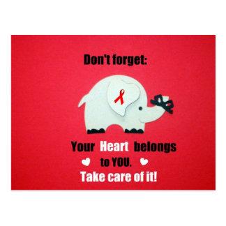 Heart Disease Awareness/Valentine's Day Postcard
