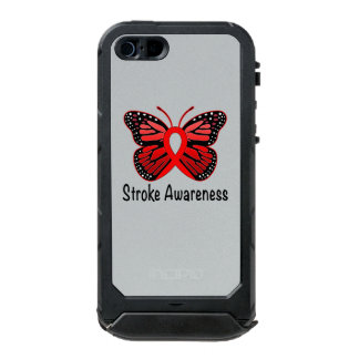 Heart Disease Butterfly Awareness Ribbon Incipio ATLAS ID™ iPhone 5 Case