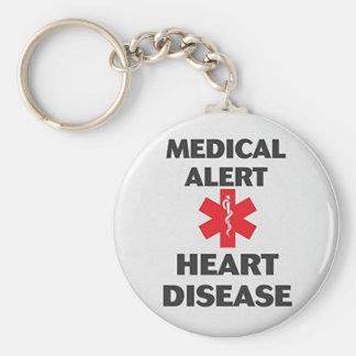 Heart Disease Key Ring