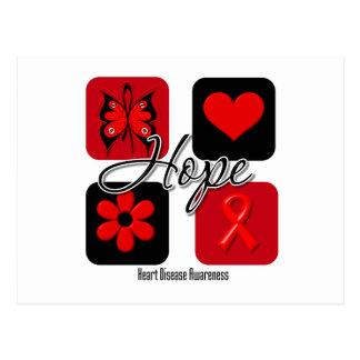 Heart Disease Love Inspire Awareness Postcard