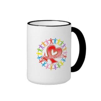 Heart Disease Unite in Awareness Mug