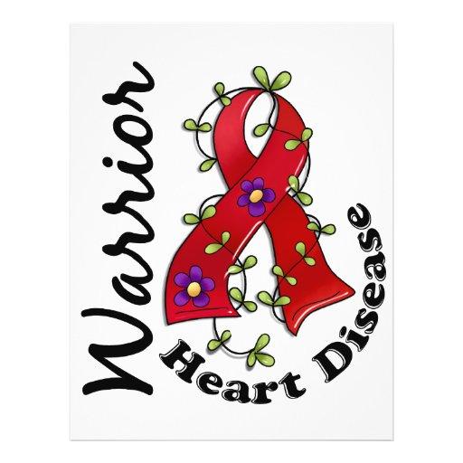 Heart Disease Warrior 15 Personalized Flyer