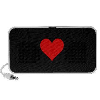 Heart Doodle iPod Speakers