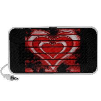 Heart Doodle iPhone Speakers