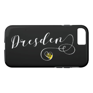 Heart Dresden Mobile Phone Case, Germany iPhone 8/7 Case