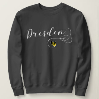 Heart Dresden Sweatshirt, Germany Sweatshirt
