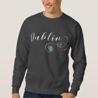 Heart Dublin Sweatshirt, Ireland, Irish Sweatshirt
