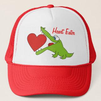 Heart Eater Funny Crocodile Hat