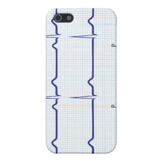 Heart Ecg pattern Speck Case Case For iPhone 5/5S