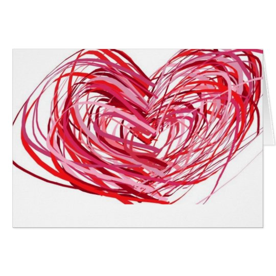 Heart Engagement Card