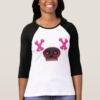 Heart Eyed Cute Skull T-shirt