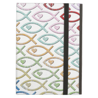 HEART-EYED JESUS FISH COVER FOR iPad AIR