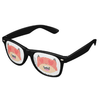 Heart Eyes Fox Glasses
