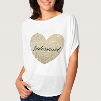 Heart Fab bridesmaid T-Shirt