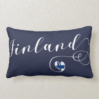 Heart Finland Pillow, Finnish, Finn Lumbar Cushion