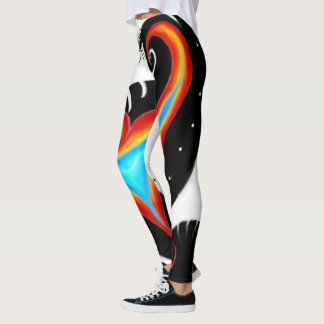 Heart Fire Leggings