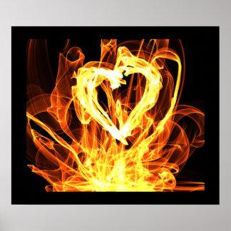 Heart Fire Poster
