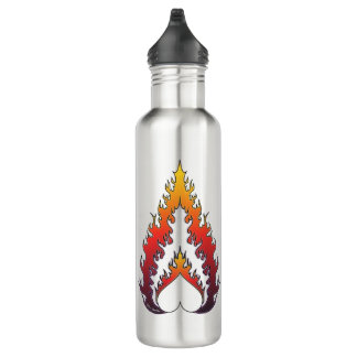Heart Fire : Steel Water Bottle