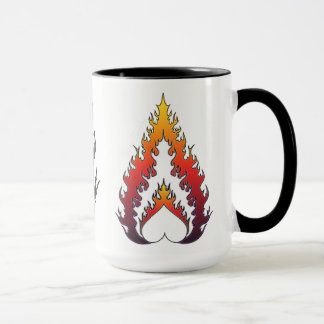 Heart Fire : Tea Mug