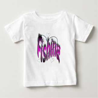 heart fishing baby T-Shirt