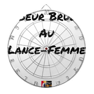 HEART FLARING WITH the LANCE-FEMME - Word games Dartboard