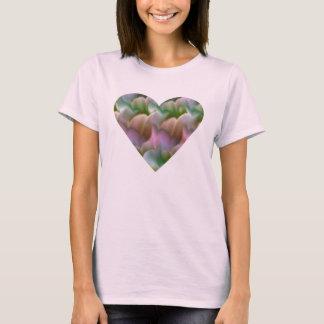 Heart Floral Spaghetti Straps T-Shirt