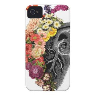 Heart Flower Hugs iPhone 4 Case