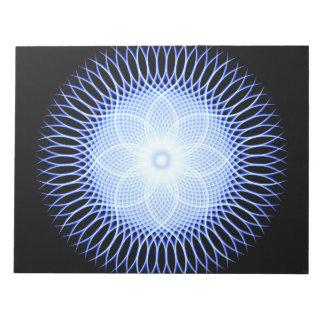 Heart Flower Mandala Notepads