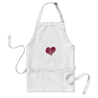 Heart & Flowers Apron