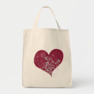 Heart & Flowers Tote
