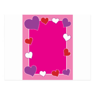 Heart Frame Postcard