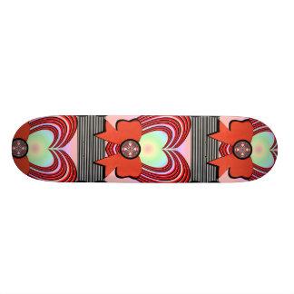 Heart Frame Ribbon Big 18.1 Cm Old School Skateboard Deck