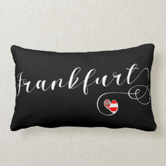 Heart Frankfurt Pillow, Germany Lumbar Cushion