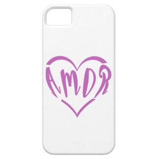 Heart full of Amor iPhone 5 Case