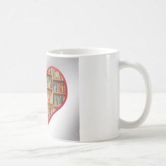 Heart Full of Books Coffee Mug