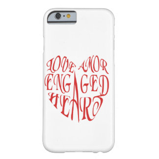 Heart full of Love Barely There iPhone 6 Case