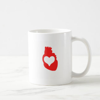 Heart full of Love Basic White Mug