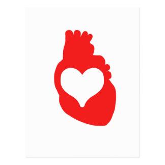 Heart full of Love Postcard