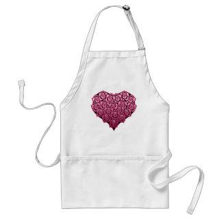 Heart Full of Roses Design Standard Apron